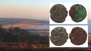 Eine Kilwa-Münze wurde offenbar an der australischen Küste gefunden
