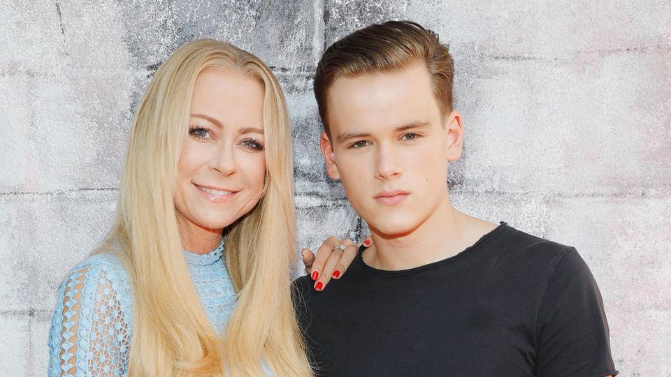 Paul Elvers mit Mutter Jenny