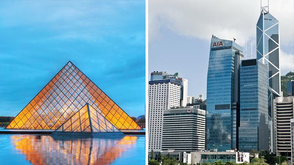 Stararchitekt gestorben: Von der Louvre-Pyramide bis zum Bank of China Tower – die Meisterwerke des I.M. Pei