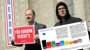 """Umfrage zur Europawahl: Drei Prozent für """"Die Partei""""! Und nun, Herr Sonneborn?"""