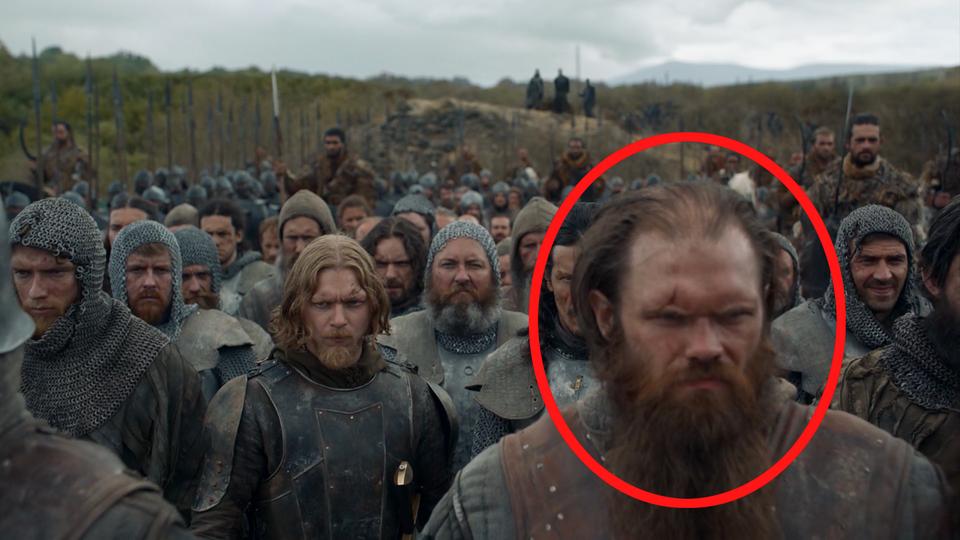 """Game of Thrones"": Andrew McClay in der jüngsten Folge ""Game of Thrones"""