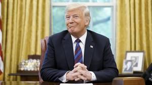 Scheffelte auch 2018 wieder Millionen: US-Präsident Donald Trump