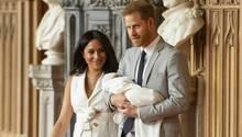 Meghan und Prinz Harry mit dem kleinen Archie