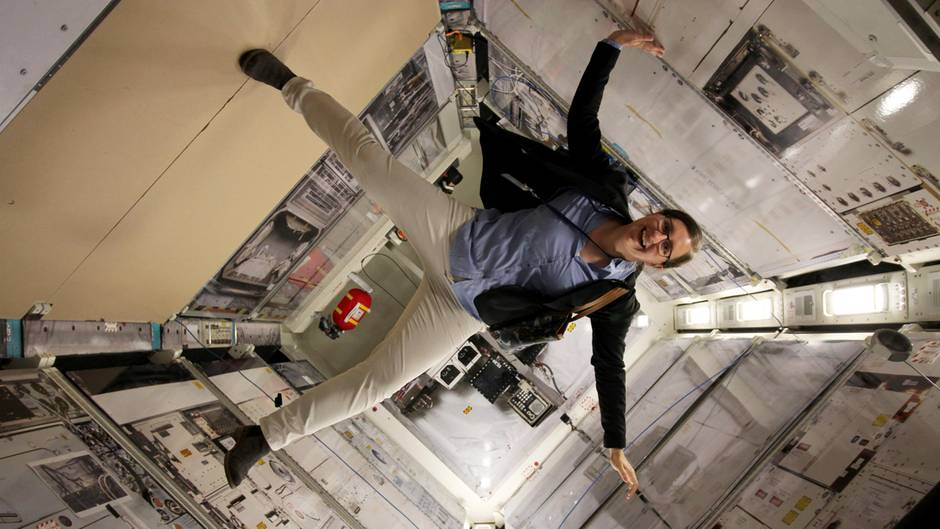 Weltraummedizinerin Bergita Ganse