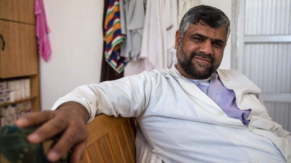 Notfallarzt Afghanistan Khoshal Porträt