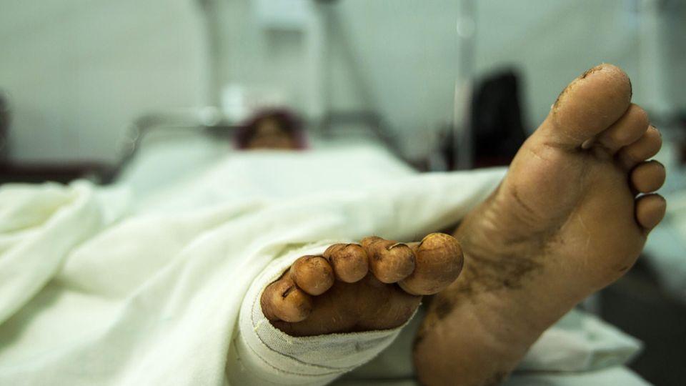 Notfallarzt Afghanistan Patient