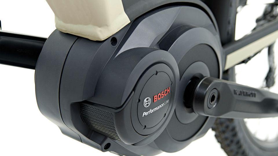 Die Bosch Performance Line ist die richtige Motorisierung für so ein Bike.
