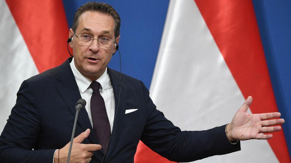 FPÖ-Vizekanzler Heinz-Christian Strache