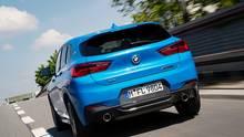 Der BMW X2 M35i ist bis zu 250 km/h schnell