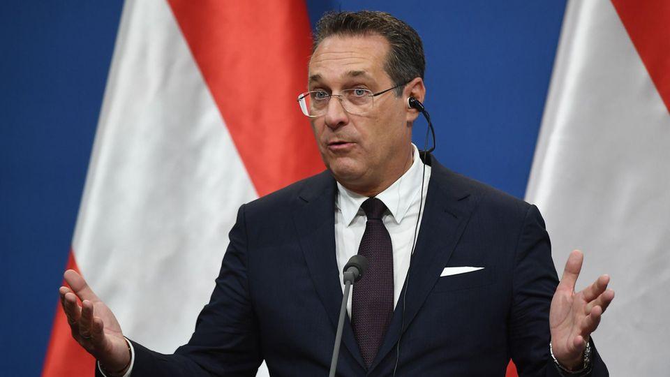 Österreichs Vizekanzler und FPÖ-Chef Strache ist massiv ins Zwielicht geraten.