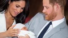 Archie Harrison Mountbatten-Windsor: Meghan und Harry zeigen ihren neugeborenen Sohn