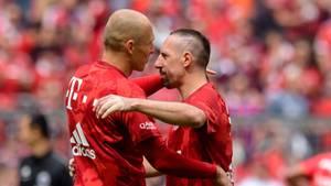 Ende einer Ära: Arjen Robben und Franck Ribéry