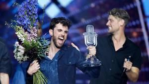 Duncan Laurence aus den Niederlanden, Gewinner des ESC 2019