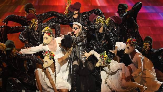 Madonnas Auftritt beim ESC 2019 in Tel Aviv