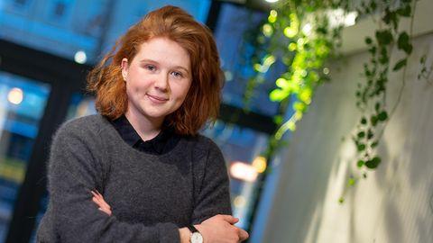 Verena Bahlsen (26) löste mit mit Äußerungen zu NS-Zwangsarbeitern eine bundesweite Debatte aus