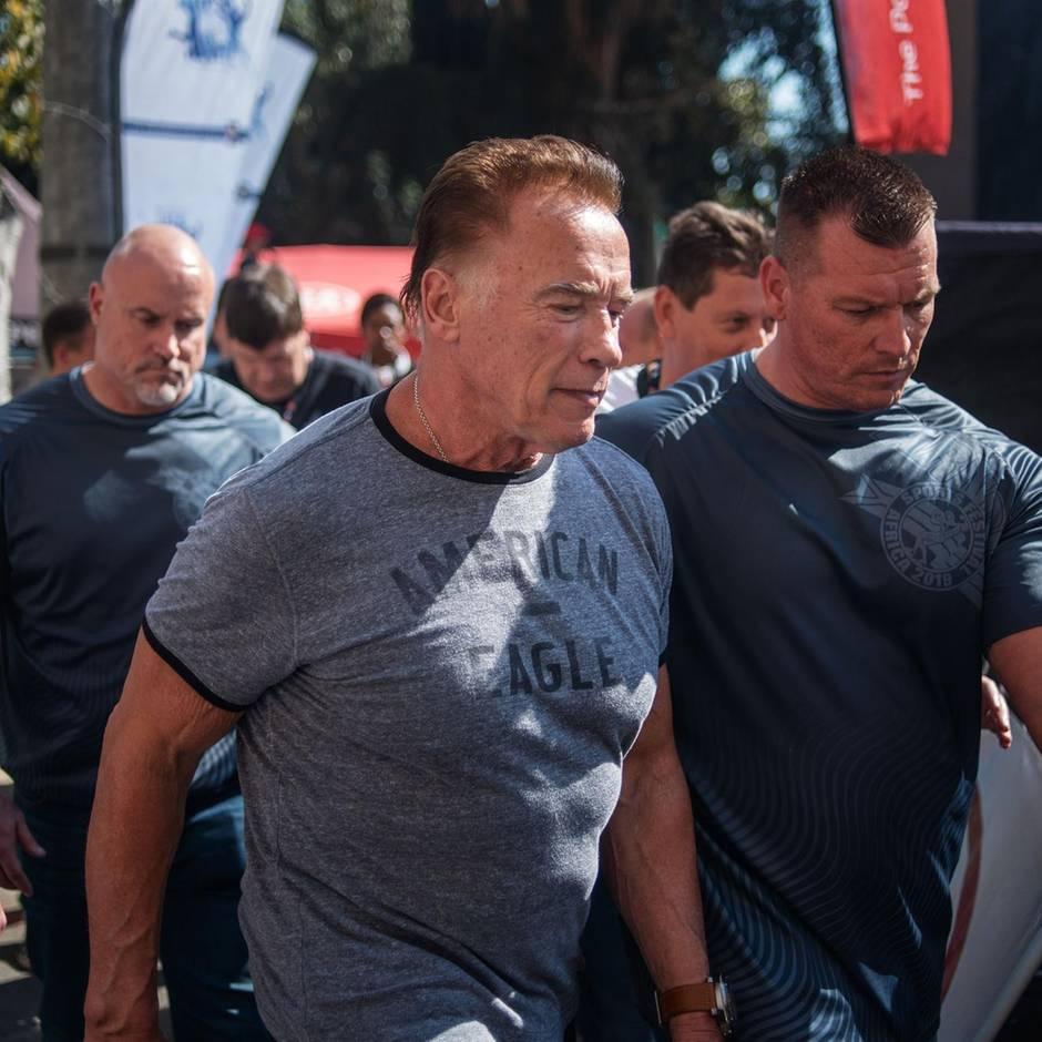 Südafrika : Brutale Attacke auf Arnold Schwarzenegger
