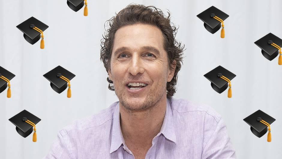 Matthew McConaughey hat sein Highschool-Abschlusszeugnis abgeholt
