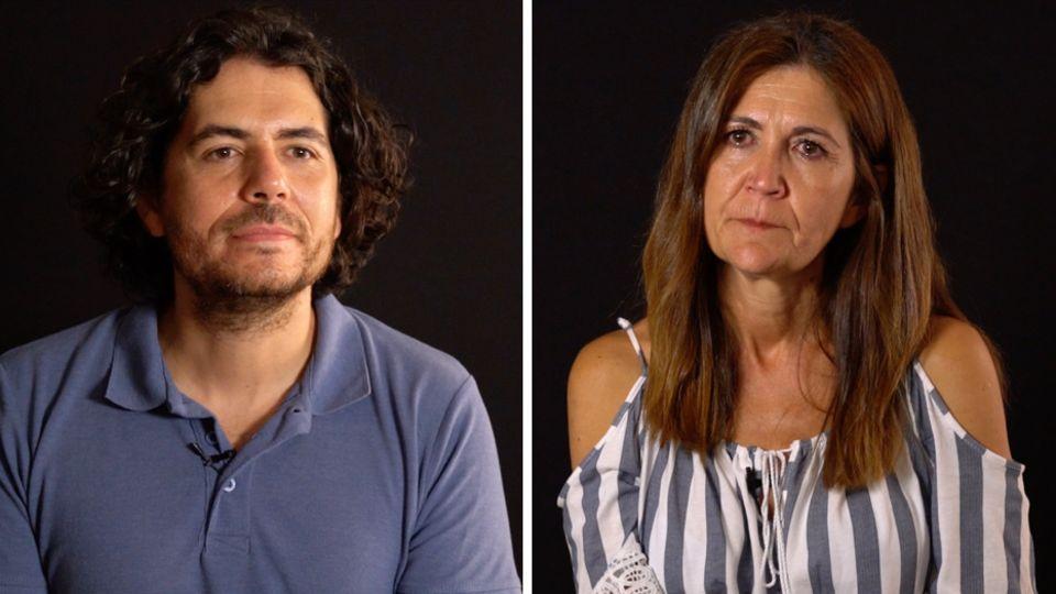 Survivors: Paloma Roque Morales mit Sohn Luis Ahijado