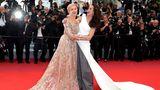 Andie MacDowell und Helen Mirren in Cannes