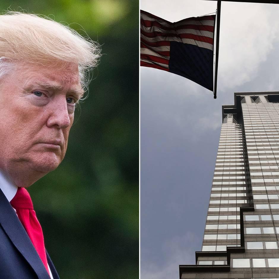 """""""New York Times""""-Bericht: Deutsche Bank soll Geldwäscheverdacht gegen Donald Trump verschwiegen haben"""