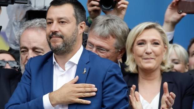 Rechtspopulisten in Mailand