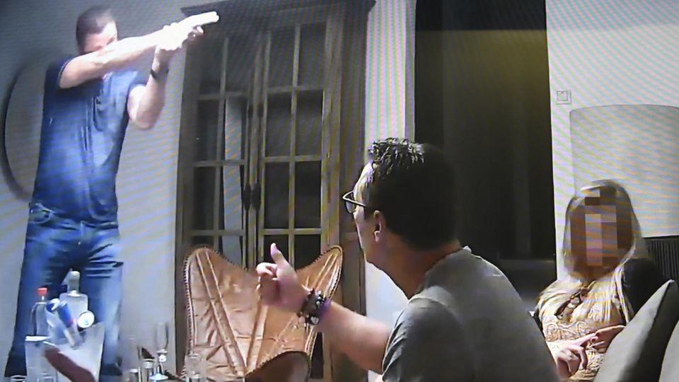 Screenshot Ibiza-Video Strache Österreich