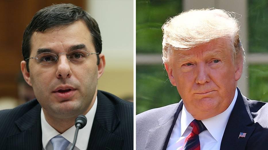 KongressabgeordenterJustin Amash und US-Präsident Donald Trump