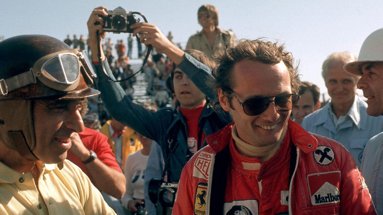 Niki Lauda beim Großen Preis der USA 1976 in Long Beach.