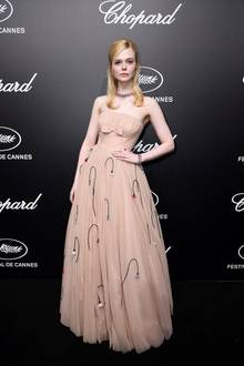Elle Fanning in Cannes