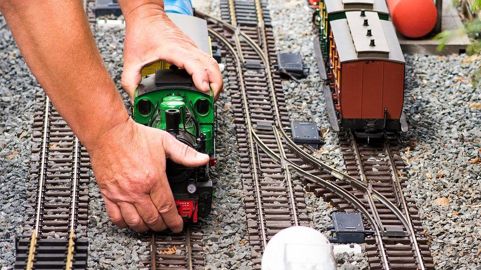 Modelleisenbahn als Symbolfoto für Spende von Rod Stewart