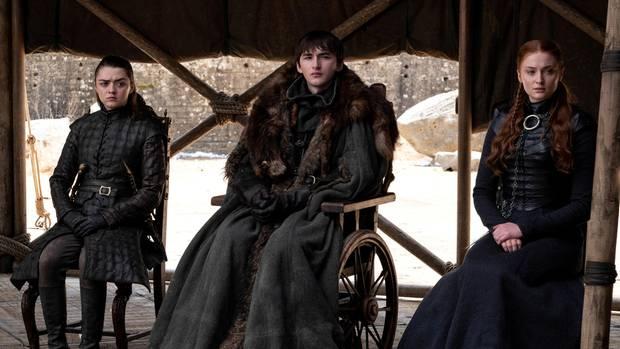 Arya, Bran und Sansa landen alle am Ende genau da, wo sie landen sollten.