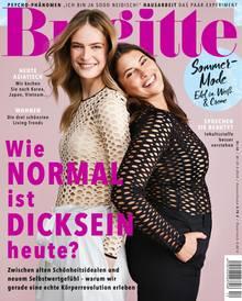 """Die aktuelle Brigitte-Ausgabe erscheint am 22. Mai und beschäftigt sich in einem 11-seitige Dossier mit Antworten auf die Fragestellung: """"Wie normal ist Dicksein heute?"""""""