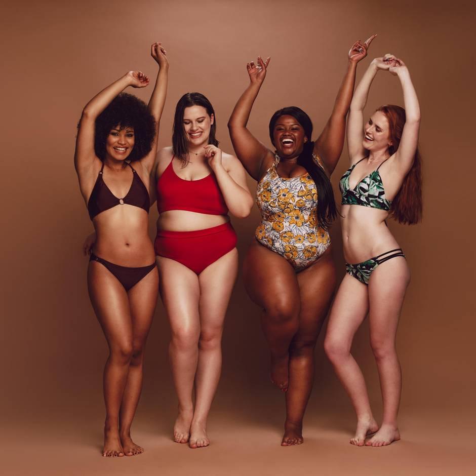 Online-Befragung: Neue Umfrage zu Body Positivity: Frauen stehen immer mehr zu ihren Pfunden