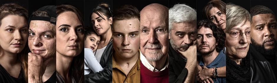 """Teilnehmer des """"Survivors""""-Projekts"""