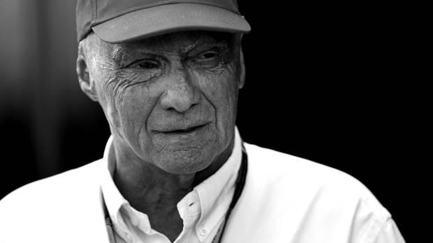 Die Formel-1-Legende Niki Lauda