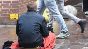 nachrichten deutschland - bettler attackiert