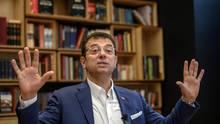 Der bei den Kommunalwahlen in der Türkei zum Bürgermeister von Istanbul gewählte Ekrem Imamoglu