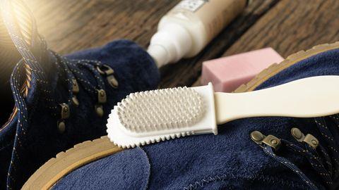 Die richtigen Pflegemittel zur Nubukleder Pflege