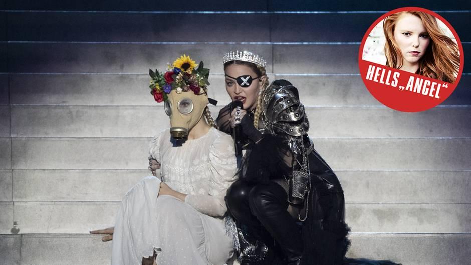 Madonnas Performance rief Spott hervor.