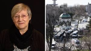 Monika Model überlebte das Selbstmordattentat an der Blauen Moschee in Istanbul