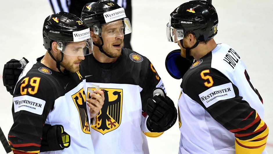 Eishockey - Deutschland trifft im WM-Viertelfinale auf Tschechien