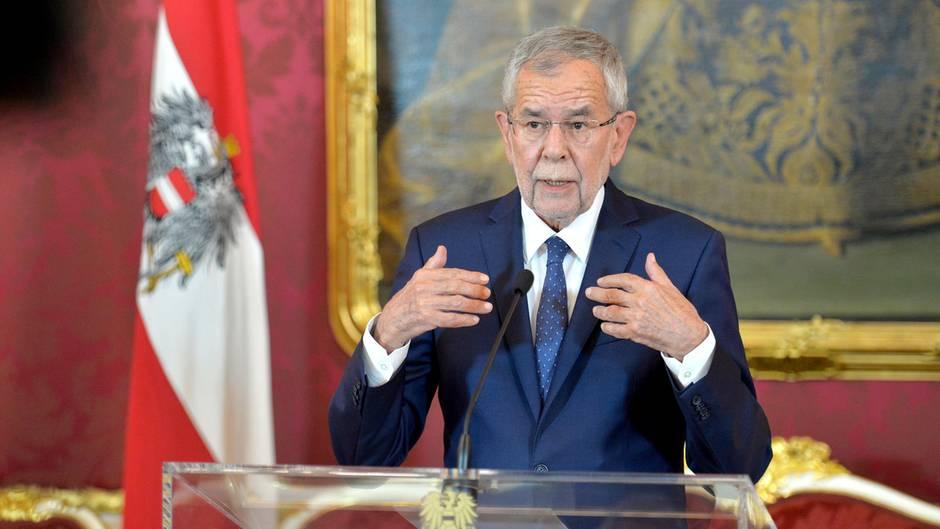 Österreichs Bundespräsident Alexander van der Bellen