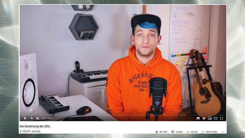 Youtuber Rezo