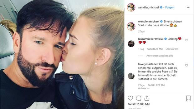 """Michael Wendler und Freundin Laura Müller sollen ins """"Sommerhaus der Stars"""" ziehen"""