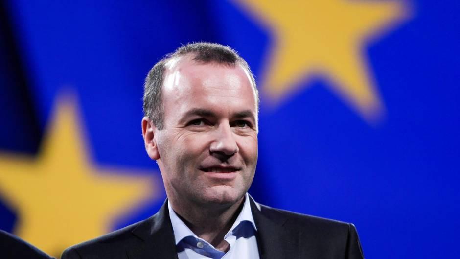 Manfred Weber, Spitzenkandidat der CDU/CSU
