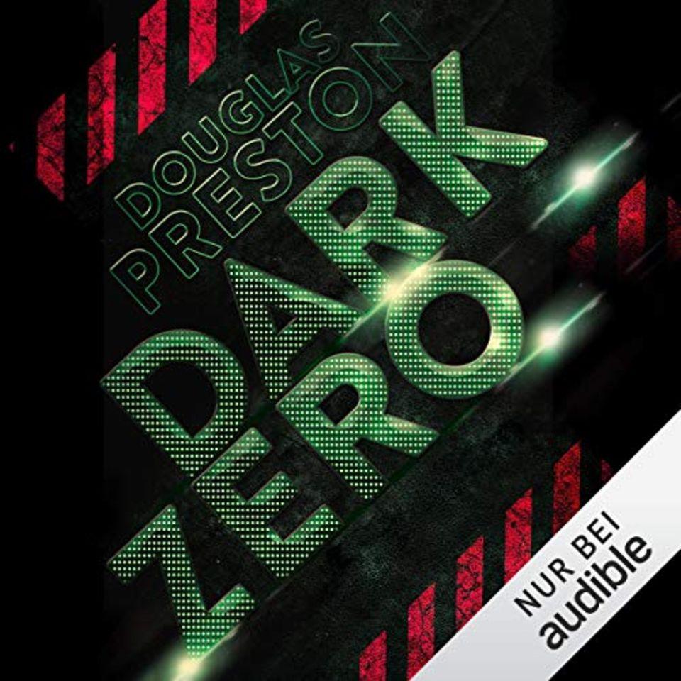 Douglas Preston - Dark Zero. Das gut elf Stunden lange Hörbuch wurde von Detlef Bierstedt (Synchronstimme von George Clooney) eingesprochen.