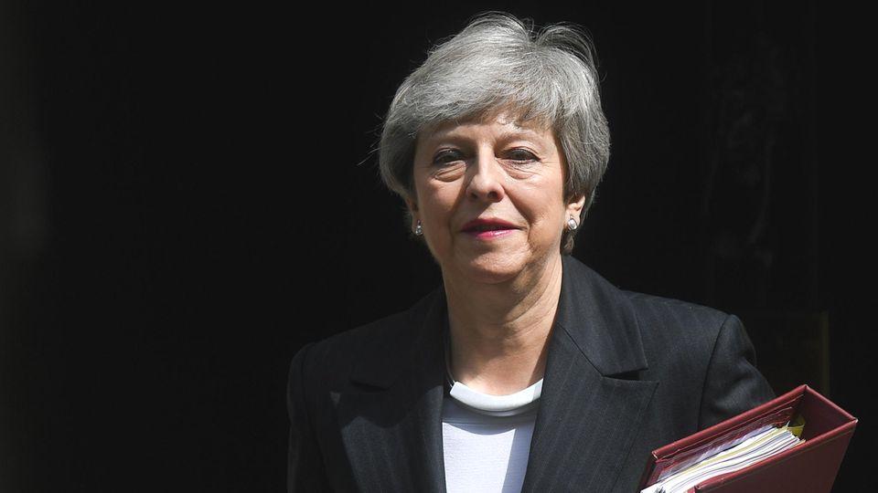 Sie einte nicht, sie teilte noch mehr: GroßbritanniensPremierministerin Theresa May