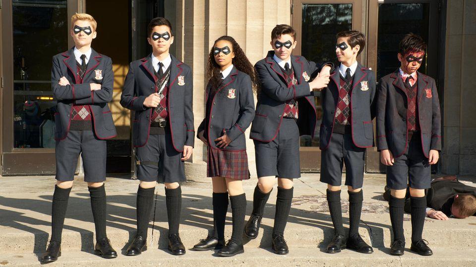 """Drehbuch zur zweiten Staffel """"Umbrella Academy"""" scheint fertig zu sein"""
