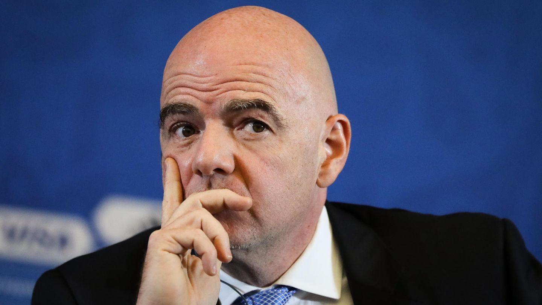 Fifa - Mammut-WM katar - Gianni Infantino