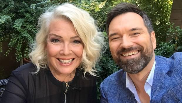 Ingo Nommsen und Kim Wilde